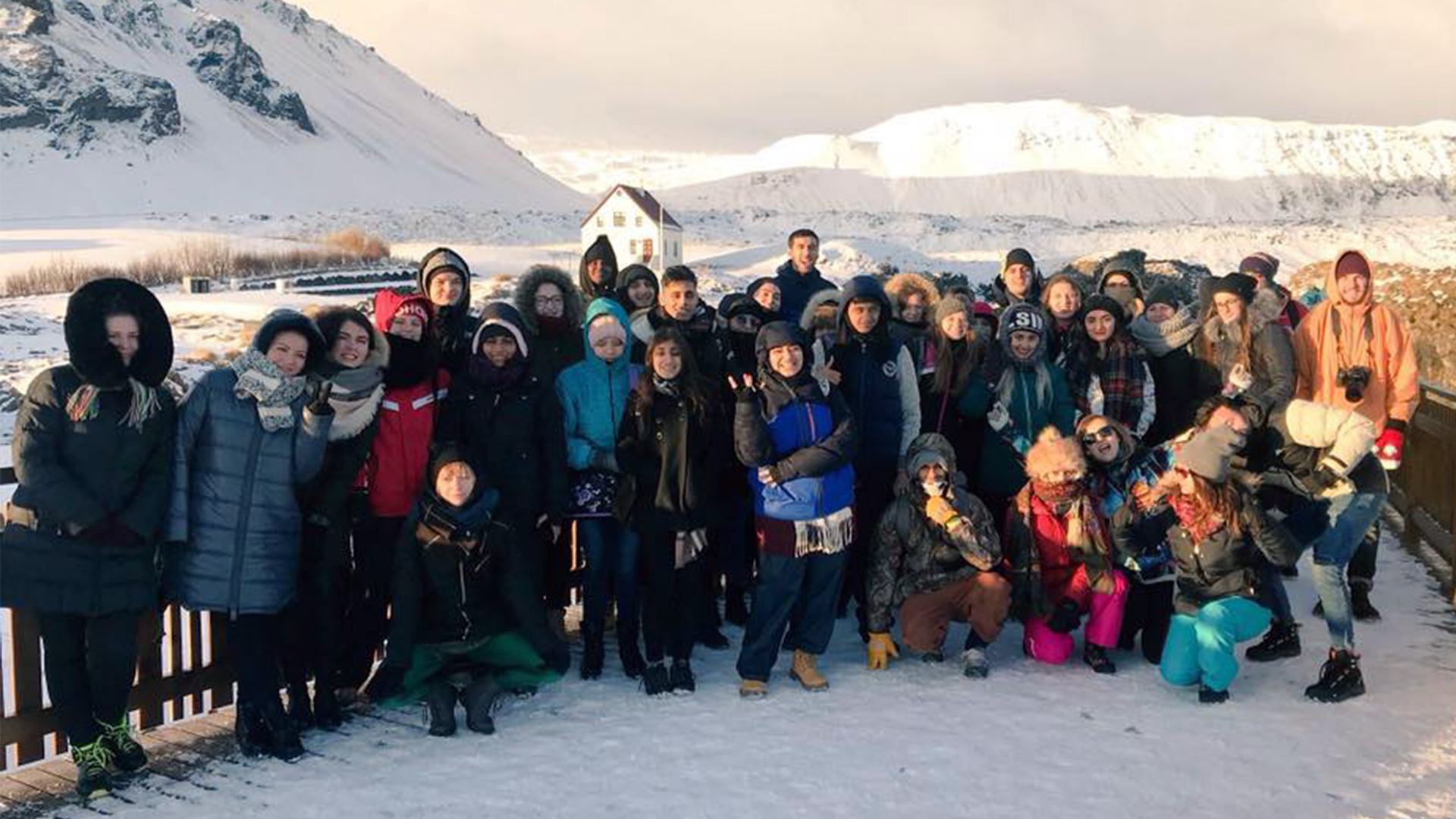 Iceland  Being in Nature  Erasmus Plus Project - 15-24 Nov 2017